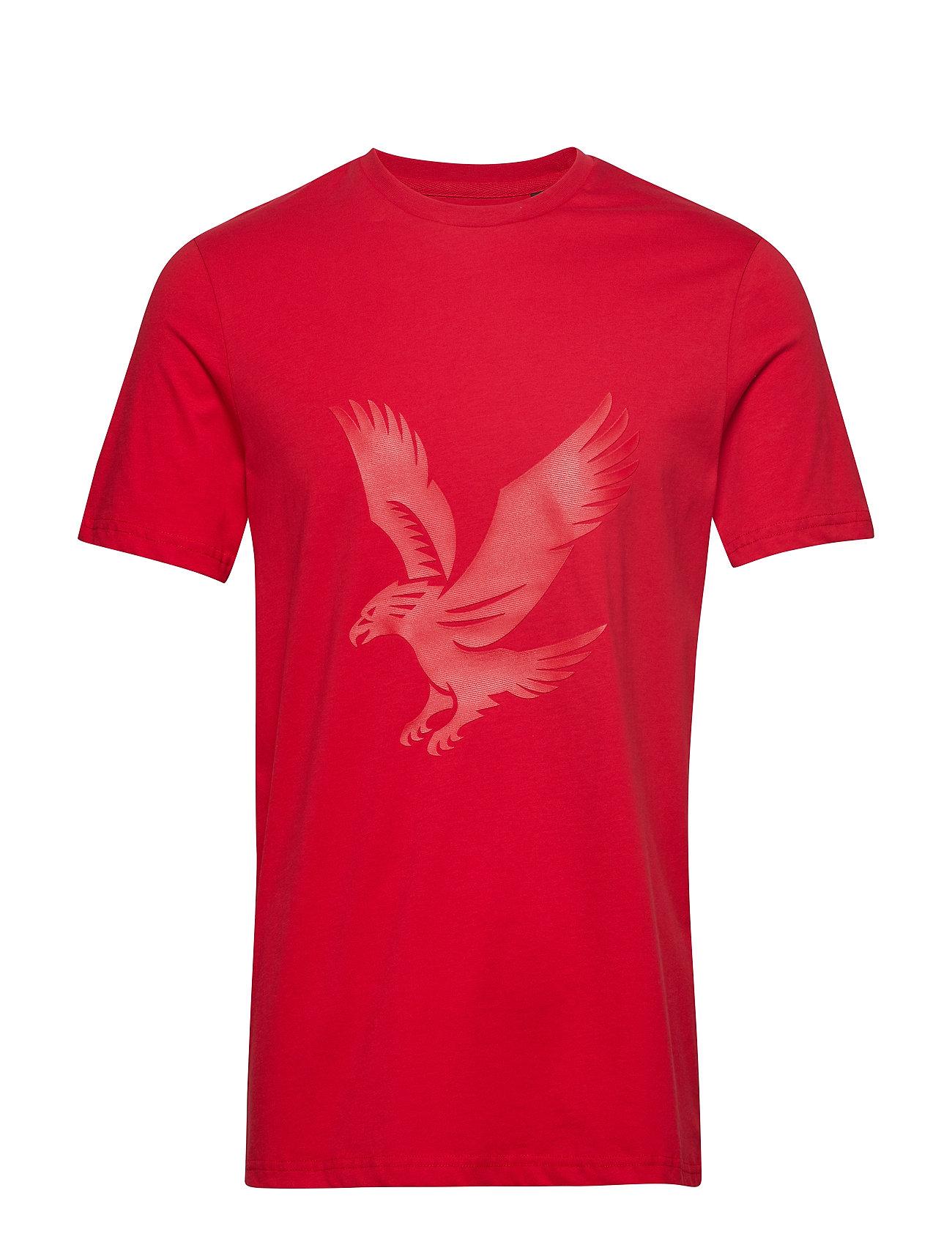 Lyle & Scott Logo T-shirt - DARK RED