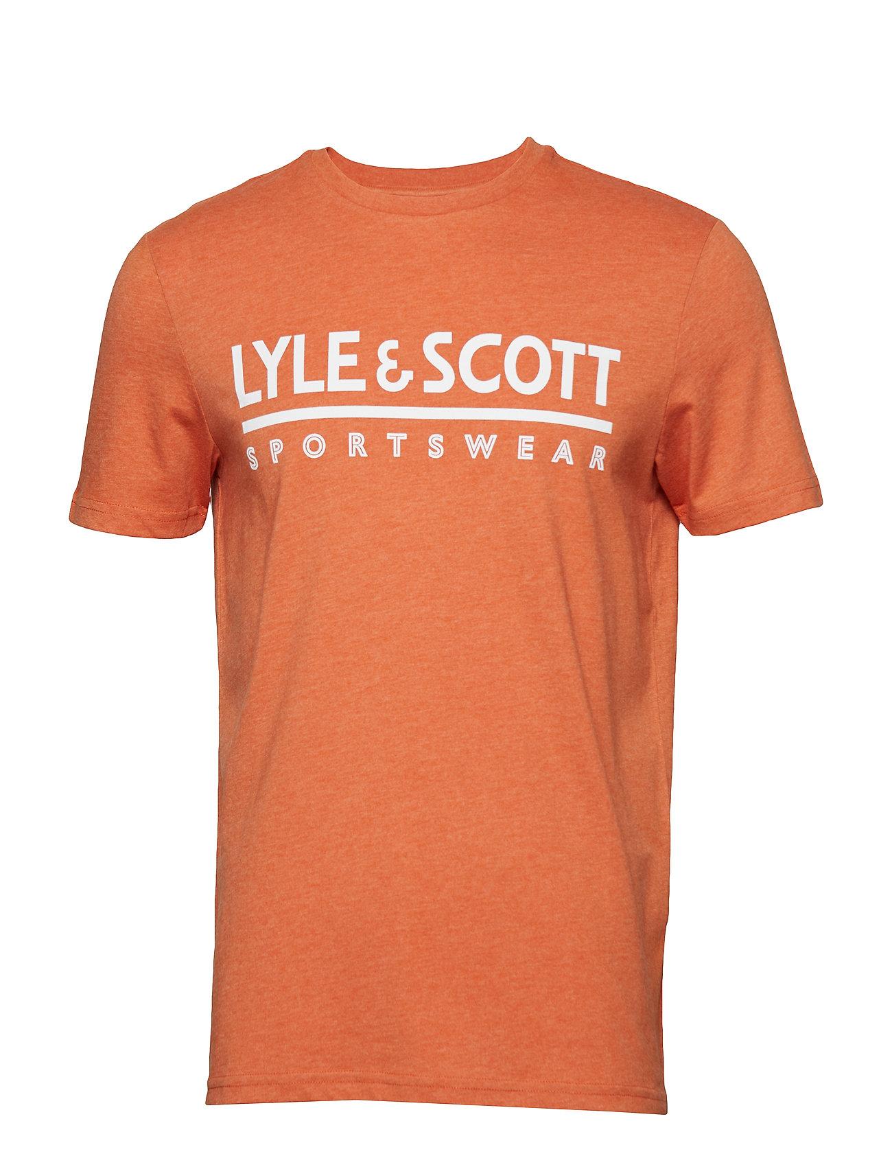 Lyle & Scott Harridge SS Large Logo T Shirt Ögrönlar