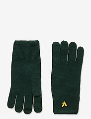 Lyle & Scott - Racked rib gloves - gants - jade green - 0