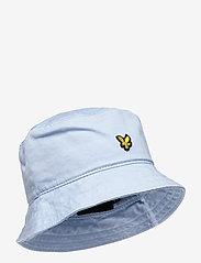 Lyle & Scott - Cotton Twill Bucket Hat - bucket hats - deck blue - 0