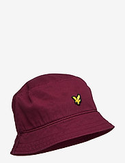 Cotton Twill Bucket Hat - MERLOT