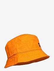 Lyle & Scott - Cotton Twill Bucket Hat - bucket hats - risk orange - 2