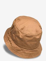 Lyle & Scott - Cotton Twill Bucket Hat - bucket hats - tawny brown - 1