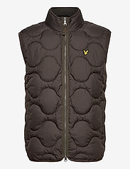 Lyle & Scott - Wadded Gilet - gilets sans manches - w123 trek green - 0