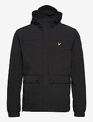 Lyle & Scott - Hooded Pocket Jacket - vestes légères - jet black - 0