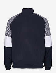 Lyle & Scott - Gingham Mix Track Jacket - vestes légères - dark navy - 1