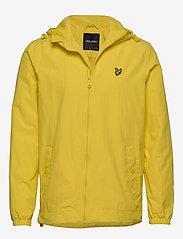 Lyle & Scott - Zip Through Hooded Jacket - vestes légères - buttercup yellow - 0