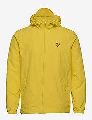 Lyle & Scott - Zip Through Hooded Jacket - vestes légères - buttercup yellow - 1