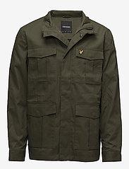 Lyle & Scott - Field Jacket - light jackets - olive - 0