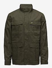 Lyle & Scott - Field Jacket - light jackets - olive - 1