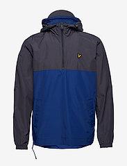 Lyle & Scott - Colour Block 1/4 Zip Jacket - anorakit - anthracite - 1
