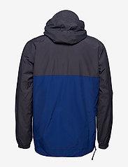 Lyle & Scott - Colour Block 1/4 Zip Jacket - anorakit - anthracite - 2