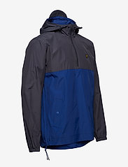Lyle & Scott - Colour Block 1/4 Zip Jacket - anorakit - anthracite - 3