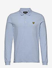 Lyle & Scott - LS Polo Shirt - polos à manches longues - pool blue - 0