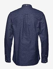 Lyle & Scott - Mottled Shirt - podstawowe koszulki - navy - 1
