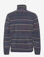 Lyle & Scott - Fairisle Fleece Half Zip - fleece - z271 dark navy - 1