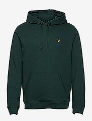 Lyle & Scott - Pullover Hoodie - hoodies - dark green - 0