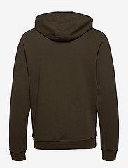 Lyle & Scott - Zip Through Hoodie - hoodies - olive - 1