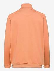 Lyle & Scott - Oversized Tricot Funnel Neck - sweatshirts & hoodies - dusk orange - 1