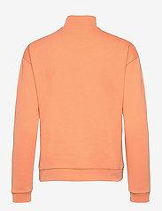 Lyle & Scott - 1/2 Zip Funnel Neck - sweatshirts en hoodies - dusk orange - 1