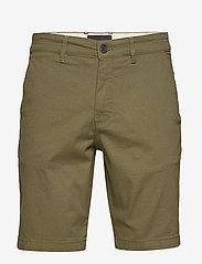 Lyle & Scott - Chino Short - chinos shorts - lichen green - 0