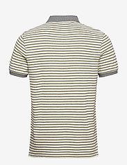 Lyle & Scott - Stripe Polo Shirt - polos à manches courtes - lemon/ mid grey marl - 1
