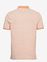 Lyle & Scott - Stripe Polo Shirt - polos à manches courtes - stonewash pink/ melon - 1
