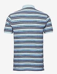 Lyle & Scott - Stripe Polo Shirt - polos à manches courtes - deck blue - 1