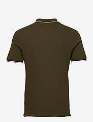 Lyle & Scott - Tipped Polo Shirt - poloshirts - olive/ white - 1