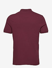 Lyle & Scott - Plain Polo Shirt - polos à manches courtes - merlot - 1