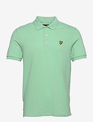 Lyle & Scott - Plain Polo Shirt - polos à manches courtes - sea mint - 0