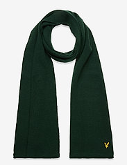 Racked rib scarf - JADE GREEN