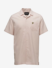 Lyle & Scott - Resort Shirt - koszule lniane - dusty pink - 0