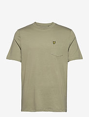 Lyle & Scott - Relaxed Pocket T-shirt - t-shirts basiques - moss - 0