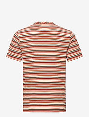Lyle & Scott - Multi Stripe T-Shirt - t-shirts à manches courtes - burnt orange - 1