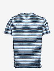 Lyle & Scott - Multi Stripe T-Shirt - t-shirts à manches courtes - deck blue - 1