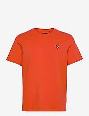 Plain T-Shirt - BURNT ORANGE