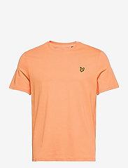 Lyle & Scott - Plain T-Shirt - t-shirts basiques - melon - 0