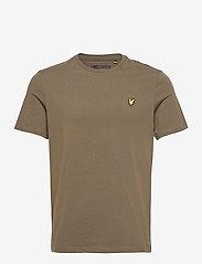 Lyle & Scott - Plain T-Shirt - t-shirts basiques - trek green - 0