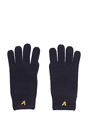 Racked rib gloves - NEW NAVY
