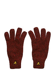 Mouline Gloves - TOMATO RED