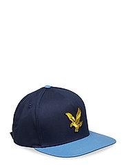 Colour Block Eagle Cap - DARK NAVY/CORNFLOWER BLUE