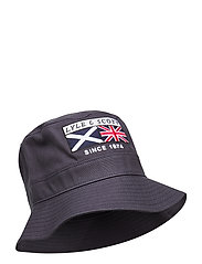 Heritage Zip Bucket Hat - DARK NAVY