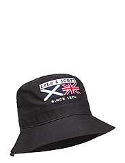 Heritage Zip Bucket Hat - TRUE BLACK