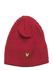 Knitted Ribbed Beanie - RUBY
