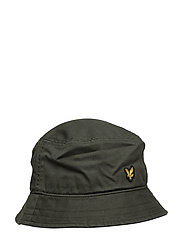Cotton Twill Bucket Hat - LEAF GREEN