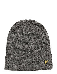 Mouline Beanie - TRUE BLACK