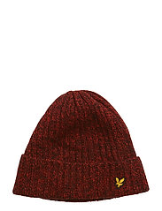Mouline Beanie - TOMATO RED