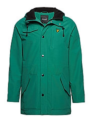 Microfleece Lined Parka - ALPINE GREEN