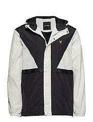 Colour Block Jacket - SNOW WHITE